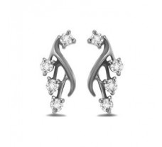 Diamond Earrings 0.40 CT / 4.5 gm Gold