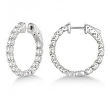 Diamond Earrings 1.50 CT / 5.00 gm Gold