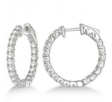 Diamond Earrings 1.90 CT / 5.70 gm Gold