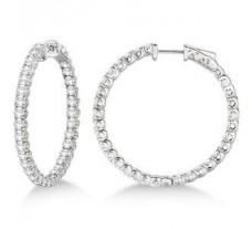 Diamond Earrings 1.86 CT / 4.50 gm Gold