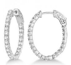 Diamond Earrings 1.32 CT / 5.00 gm Gold