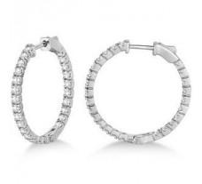 Diamond Earrings 1.50 CT / 5.00 gm Gold