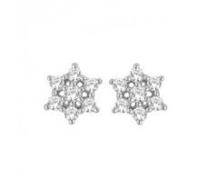 Diamond Designer Earrings 0.26 CT / 2.90 gm Gold