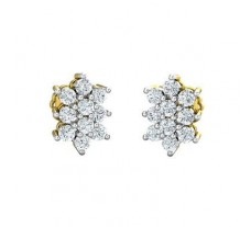 Diamond Earrings 0.40 CT / 2.50 gm Gold