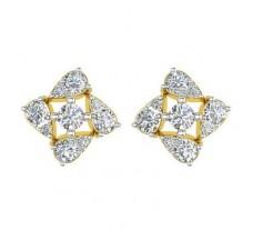 Diamond Earrings 0.46 CT / 2.50 gm Gold