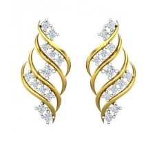 Diamond Earrings 0.44 CT / 4.45 gm Gold