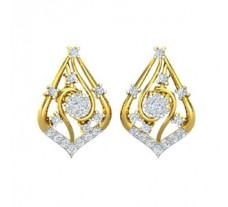 Diamond Earrings 0.58 CT / 4.00 gm Gold