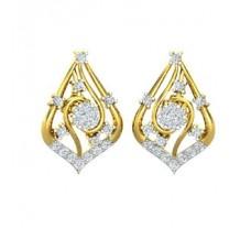Diamond Earrings 0.58 CT / 4.00 gm Gold