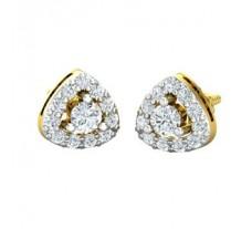 Diamond Earrings 0.36 CT / 2.20 gm Gold