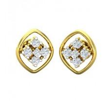 Diamond Earrings 0.27 CT / 2.76 gm Gold