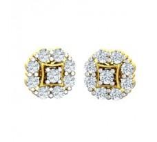 Natural Diamond Earrings 0.56 CT / 2.72 gm Gold