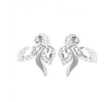 Natural Diamond Earrings 0.33 CT / 3.33 gm Gold