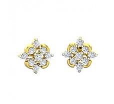 Diamond Earrings 0.45 CT / 2.60 gm Gold