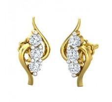 Diamond Earrings 0.26 CT / 1.80 gm Gold