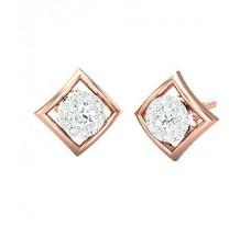 Diamond Earrings 0.27 CT / 2.85 gm Gold