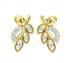 Diamond Earrings 0.40 CT / 3.50 gm Gold