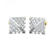 Natural Diamond Earrings 0.75 CT / 2.20 gm Gold