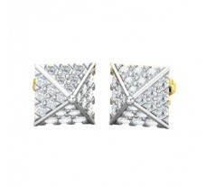 Natural Diamond Earrings 0.80 CT / 2.90 gm Gold