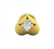 Natural Diamond Earring 0.05 CT / 0.65 gm Gold