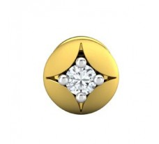 Natural Diamond Earring 0.06 CT / 0.65 gm Gold