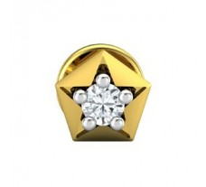 Natural Diamond Earring 0.06 CT / 0.50 gm Gold