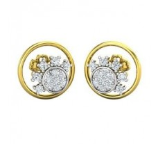 Diamond Earrings 0.32 CT / 3.20 gm Gold