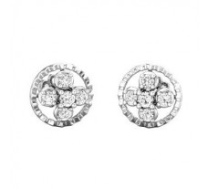 Diamond Earrings 0.29 CT / 3.52  gm Gold