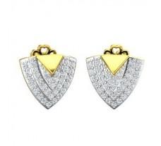 Diamond Earrings 0.39 CT / 3.64 gm Gold