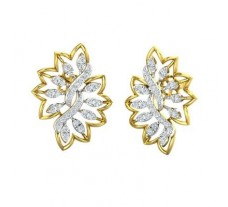 Diamond Earrings 0.86 CT / 5.32 gm Gold