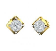 Diamond Earrings 0.44 CT / 2.90 gm Gold