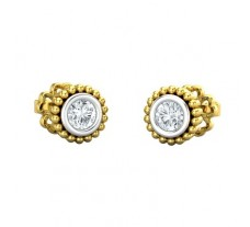 Natural Diamond Earring 0.30 CT / 1.71 gm Gold