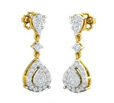 Natural Diamond Earring 0.70 CT / 4.12 gm Gold