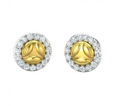 Natural Diamond Earring 0.51 CT / 2.95 gm Gold