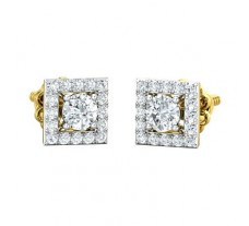 Natural Diamond Earring 0.82 CT / 2.60 gm Gold