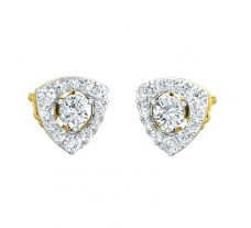Natural Diamond Earring 1.08 CT / 2.60 gm Gold