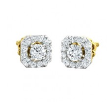 Natural Diamond Earring 0.98 CT / 2.50 gm Gold