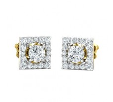 Natural Diamond Earring 0.86 CT / 2.55 gm Gold