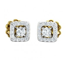 Natural Diamond Earring 0.44 CT / 2.35 gm Gold