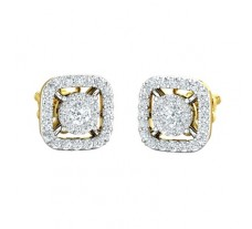Natural Diamond Earring 0.60 CT / 2.90 gm Gold