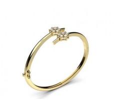 Natural Diamond Bracelet 1.02 CT / 25.00 gm Gold