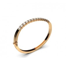 Natural Diamond Bracelets 2.48 CT / 22.20 gm Gold