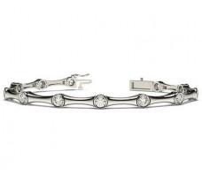 Natural Diamond Bracelets 2.16 CT / 12.13 gm Gold