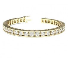 Natural Diamond Bracelets 9.00 CT / 27.2 gm Gold