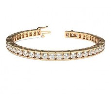 Natural Diamond Bracelets 7.00 CT / 25.45 gm Gold