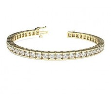 Natural Diamond Bracelets 5.28 CT / 19.90 gm Gold