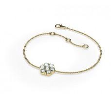 Natural Diamond Bracelets 0.49 CT / 3.20 gm Gold