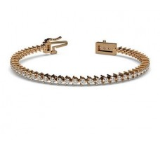 Natural Diamond Bracelets 2.4 CT / 9.70 gm Gold