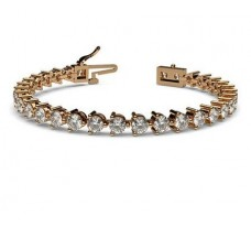 Natural Diamond Bracelets 6.93 CT / 18.35 gm Gold