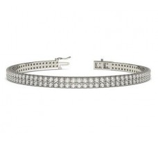 Natural Diamond Bracelets 4.00 CT / 22.3 gm Gold