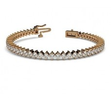 Natural Diamond Bracelets 4.86 CT / 13.50 gm Gold
